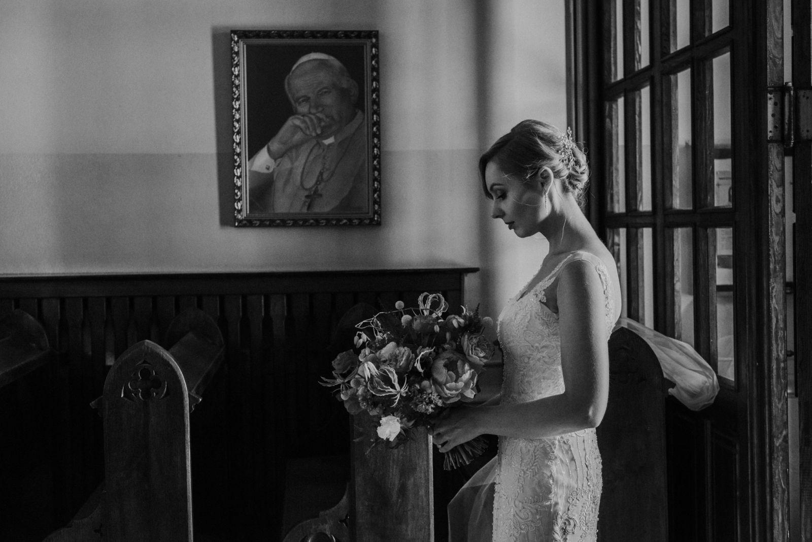 bukiet na ślub